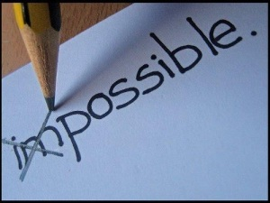 impossible - possible
